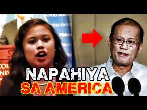 WATCH: Napahiya Si Noynoy Aquino Sa America! Babaeng Reporter Binulgar Lahat Ng Baho Ni Panot