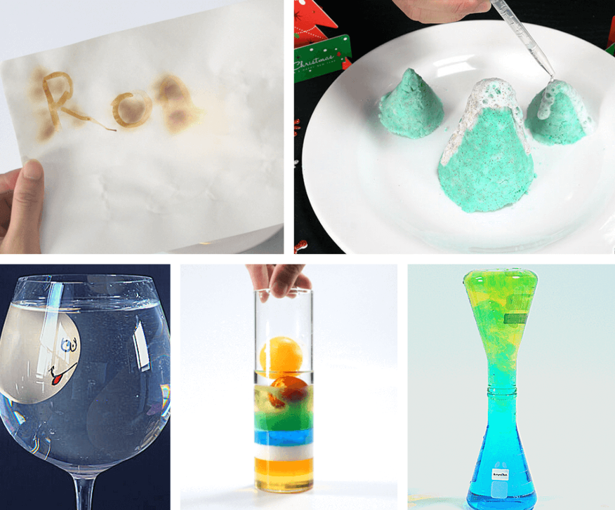10+ kitchen science experiments for kids 2020