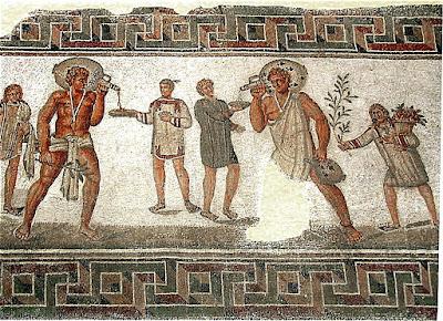Roman slaves