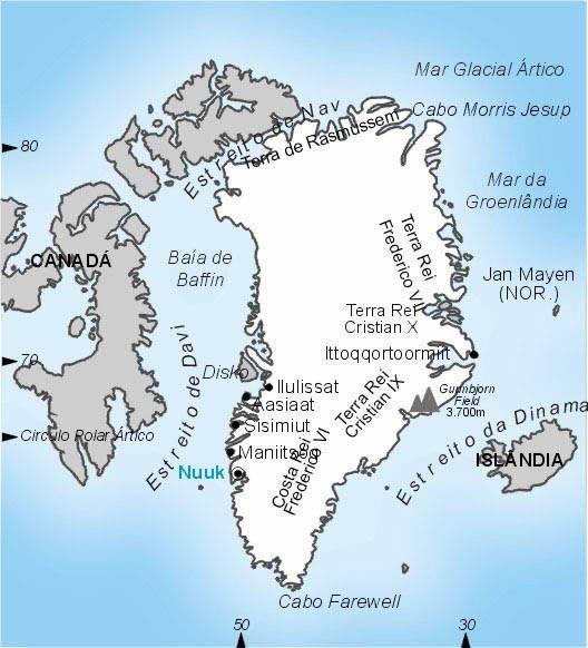 Groenlândia, Território Externo da Dinamarca