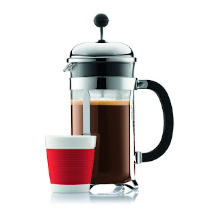 Best Glass Coffee Maker, capacity 1 litre / 8 cup, brand : Bodum CHAMBORD 17.99 GBP