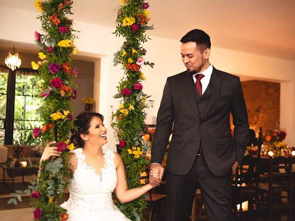 Patrícia ♥ Paulo : Micro Wedding para 17 convidados na Casa Beludi