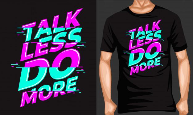 Speak less, Do more