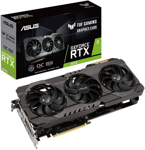 ASUS TUF Gaming NVIDIA GeForce RTX 3070 OC Edition