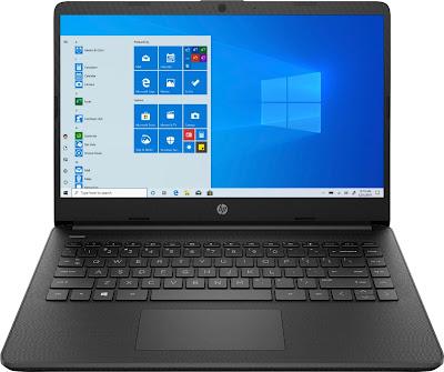 "HP 14"" Laptop - AMD Athlon Silver - Model: 14-fq0013dx | Laptop under $350"