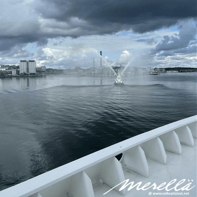 Silja Serenade saapuu Tukholmaan lähes puolentoista vuoden tauon jälkeen