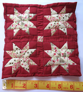12th scale dollhouse quilt