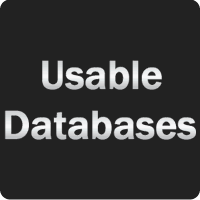 Usable Databases
