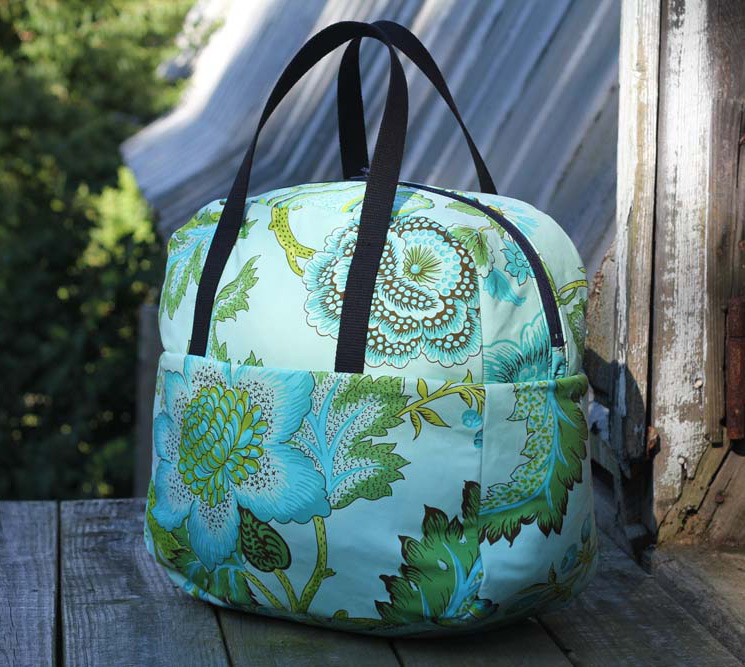 Weekender Travel Bag. Tutorial & Pattern