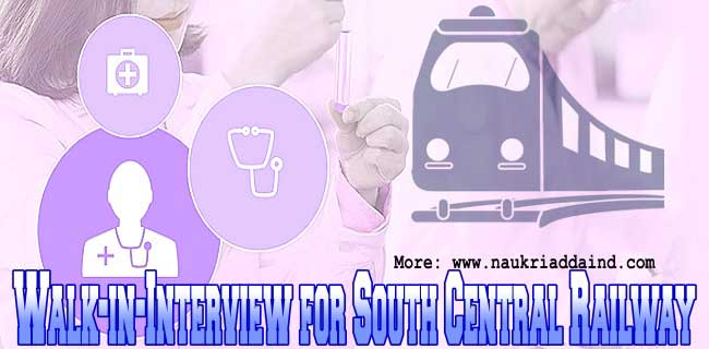Jobs in South Central Railway