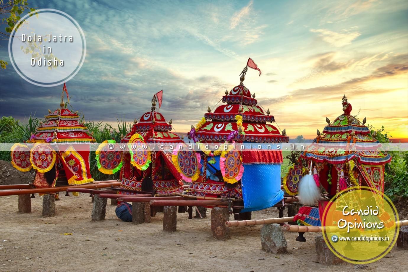 Dola Jatra (Dola Utsav) In Odisha