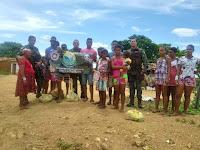 Cippa distribui 1,5 toneladas de alimentos