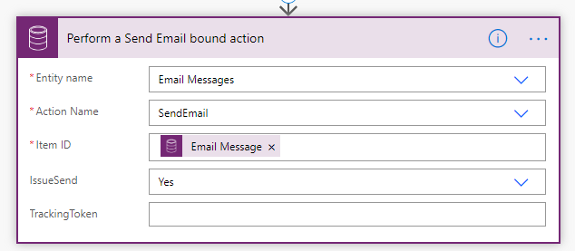7. Send out the Email from the system