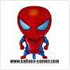 Balon Foil Karakter Spiderman BARU