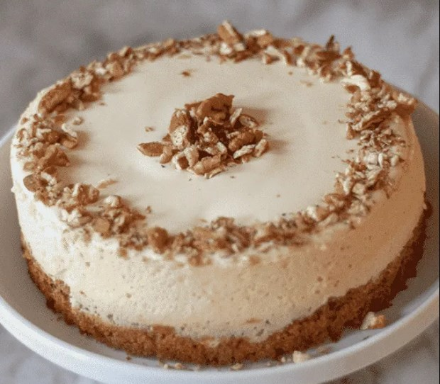 Carrot Cake Cheesecake #cake #desserts