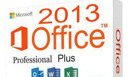 MICROSOFT OFFICE PROFESSIONAL PLUS 2013 (32&64BIT)