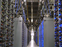 Mengintip pusat data Google (Google Data Center)