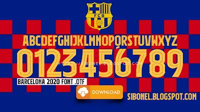 Font Barcelona 2020