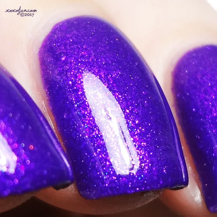 xoxoJen's swatch of Blue-Eyed Girl Lacquer End of the Rainbow