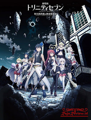 Trinity Seven Movie: Eternity Library to Alchemic Girl 2017 Review