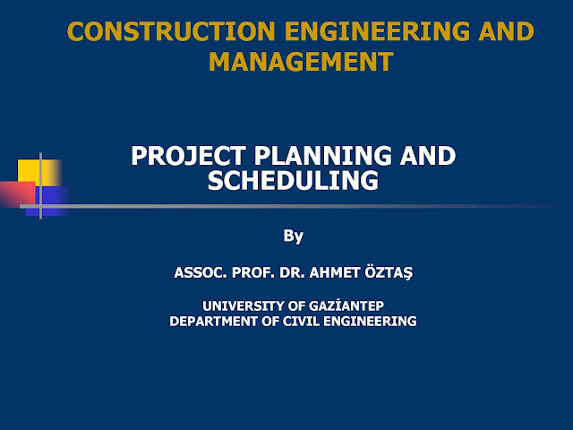 Project Planning and Scheduling in Construction pdf