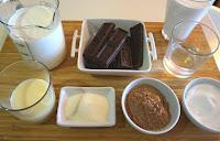 TARTA 🎂 CREMOSA de CHOCOLATE 🍫 (pastel fácil y SIN HORNO)