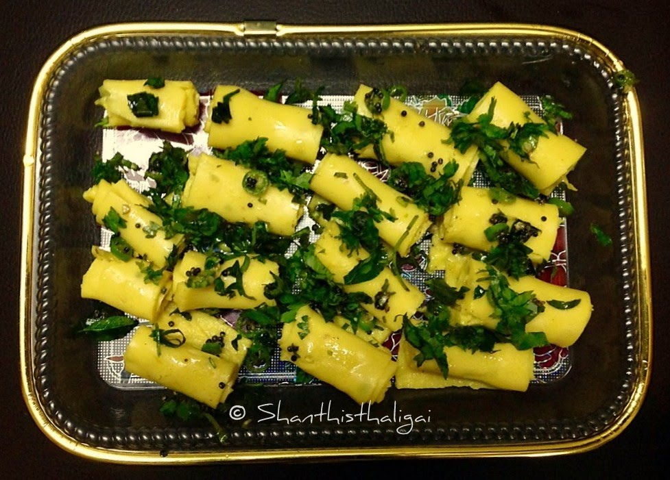 How to make Khandvi? Khandvi (Gujarati recipe)