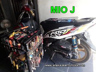 Cara pasang alarm motor  Yamaha Mio J