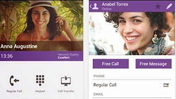 viber Free calling Application for Android Mobile Phone image photo