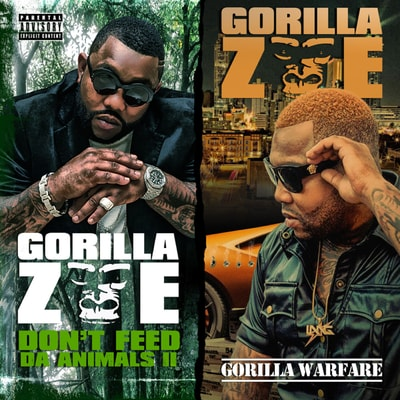 Gorilla Zoe - Don't Feed Da Animals 2 / Gorilla Warfare (Deluxe) (2019) - Album Download, Itunes Cover, Official Cover, Album CD Cover Art, Tracklist, 320KBPS, Zip album
