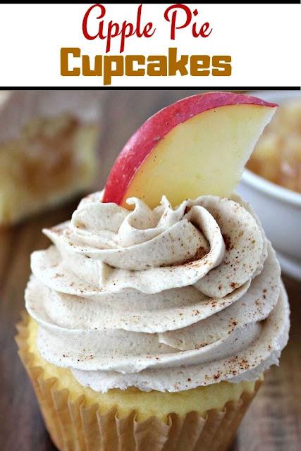 Apple Pie Cupcakes #Apple #Pie #Cupcakes Cake Recipes From Scratch, Cake Recipes Easy, Cake Recipes Pound,