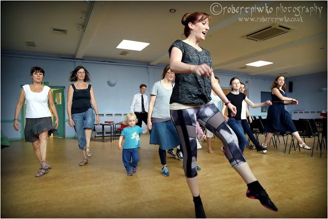 Ensemble Hesperi - Pheasant's Eye Highland Dance Workshop (Photo Robert Piwko)