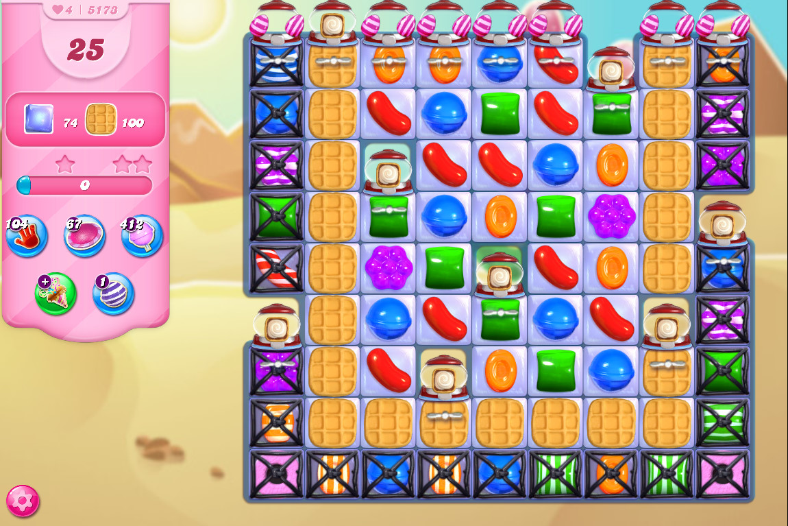 Candy Crush Saga level 5173