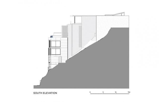 Illustration of south elevation