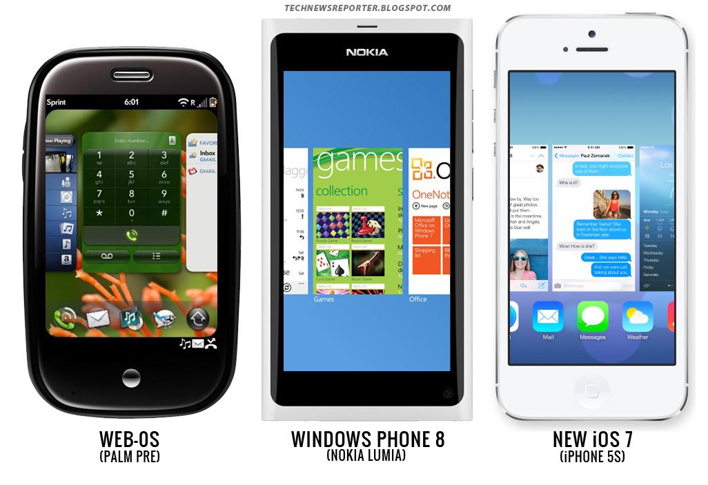 Apple iOS 7 vs Android Jellybean, Windows Phone 8 - Apple ...