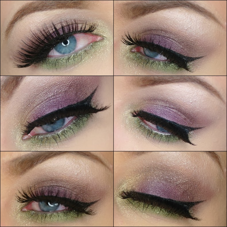 Eye makeup collage urban decay, inglot, kanebo sensai, ysl