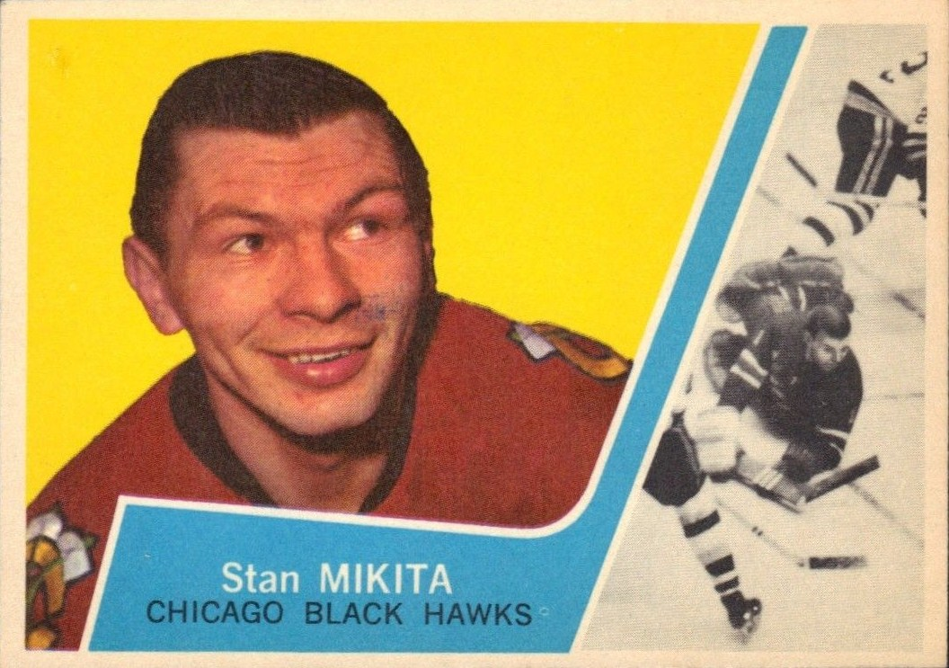 Chicago Blackhawks Legends  Stan Mikita fc24e59ff