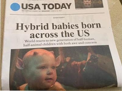 Hybrid babies; are they trying to tell us something?