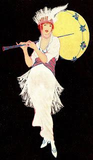 antique dress umbrella image download woman
