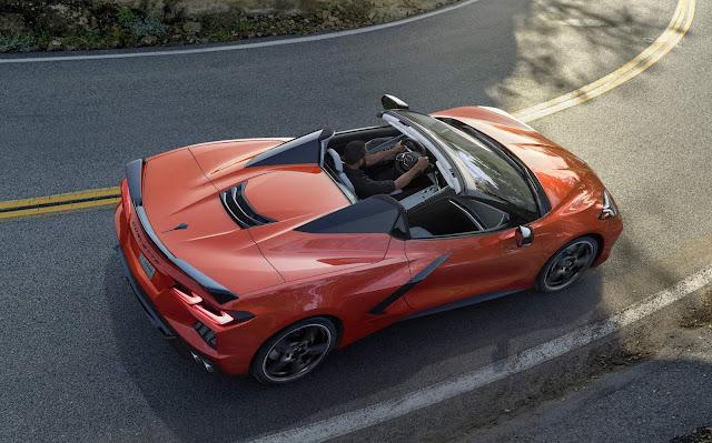 Chevrolet Corvette Stingray 2020 conversível lançado nos EUA