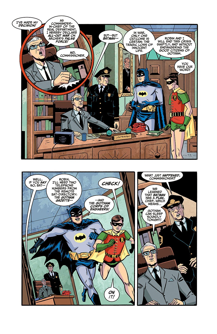 66 18 Adults Only 2017: SUPERHÉROES DEL FUTURO PASADO: PREVIEW: BATMAN '66 #18