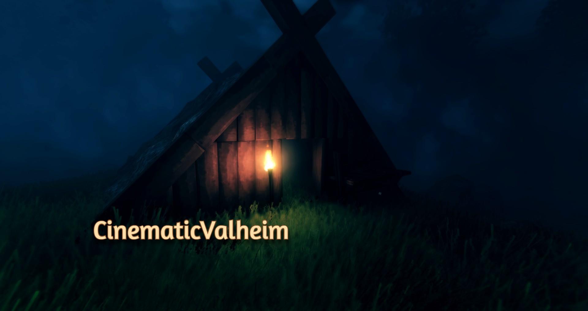 Valheim: Cinematic graphics