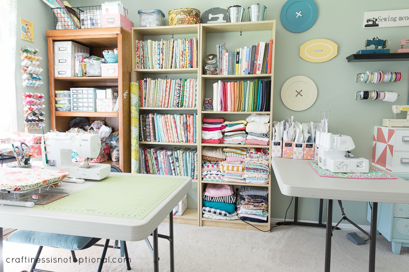 Cute Room Crafts: Updated Craft Room
