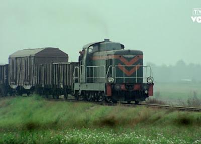 sceny kolejowe