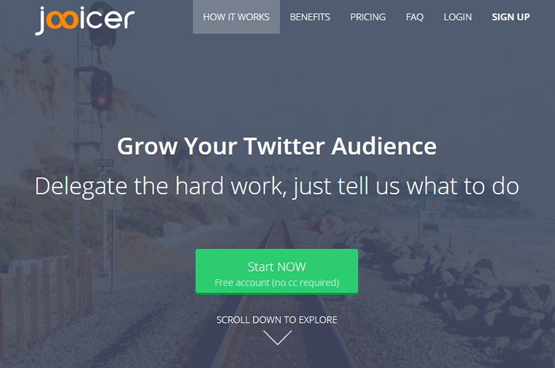 Grow your Twitter audience with Jooicer