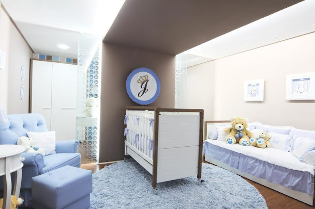 Baby boy nurseries ideas for Habitaciones para bebes varones