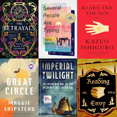 book covers from list following