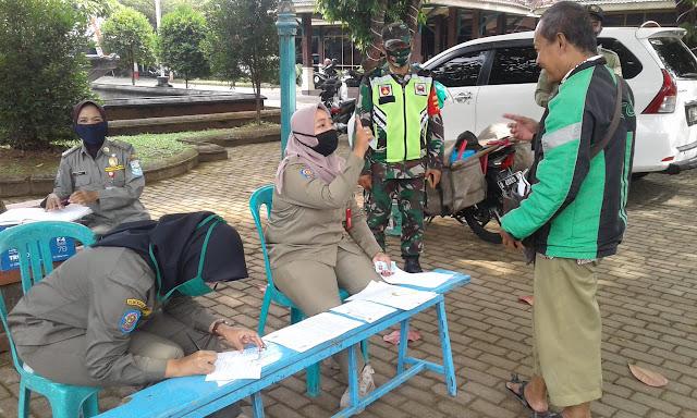 Tidak Pakai Masker, 60 Warga Purbalingga Disanksi Push Ups