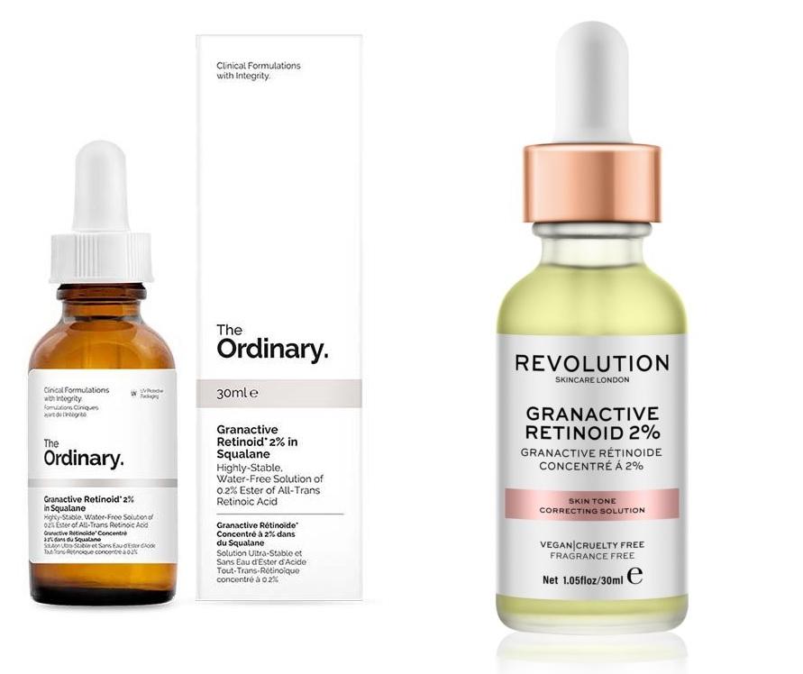 Produkty s granactive retinoid
