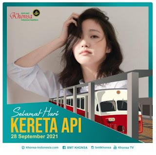 twibbon selamat hari kereta api indonesia 2021 - kanalmu